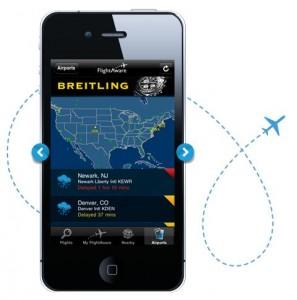 Flight Aware iPhone Travel App