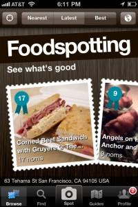 Foodspotting iphone travel app