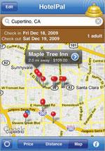 HotelPal iphone travel app