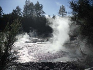 Thermal Spa on Lake Rotorua